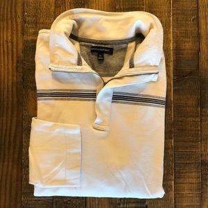 Men's - Banana Republic 1/2 Zip Sweater - XL